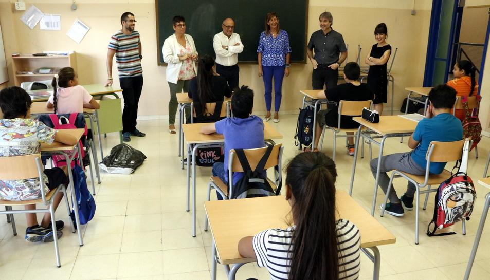 Imatge d'arxiu de l'institut-escola Mediterrani de Tarragona.