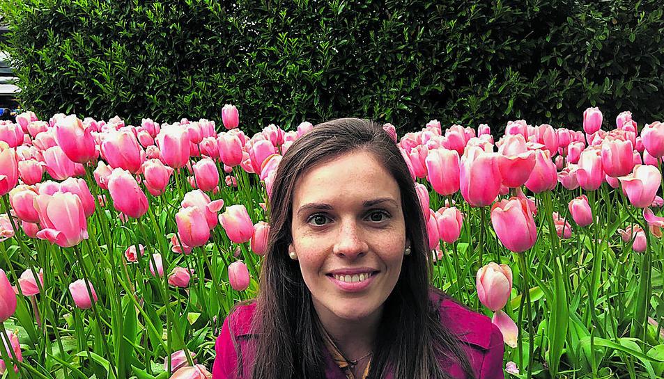L'Anna Tusset a Keukenhof Garden situat al nord-oest de Lisse, a l'Holanda Meridional.