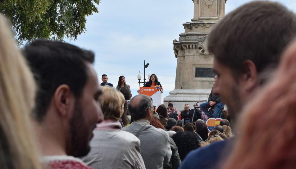 Acto de C's en Tarragona