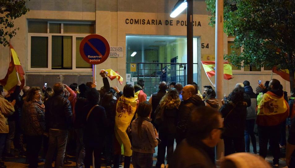 Concentración unionista en Reus