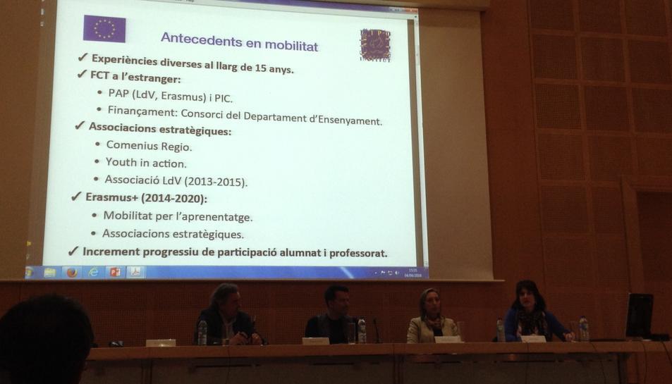 Un total de 1.662 estudiants de la URV han fet l'Erasmus des del curc 2012/13.
