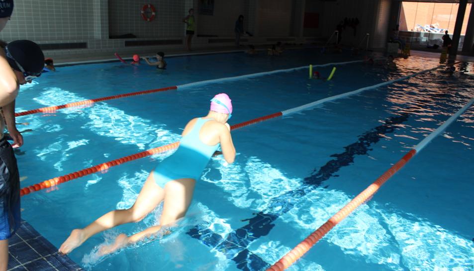 Imatge de l'activitat 'Cap nen sense saber nedar' aquest dilluns 13.