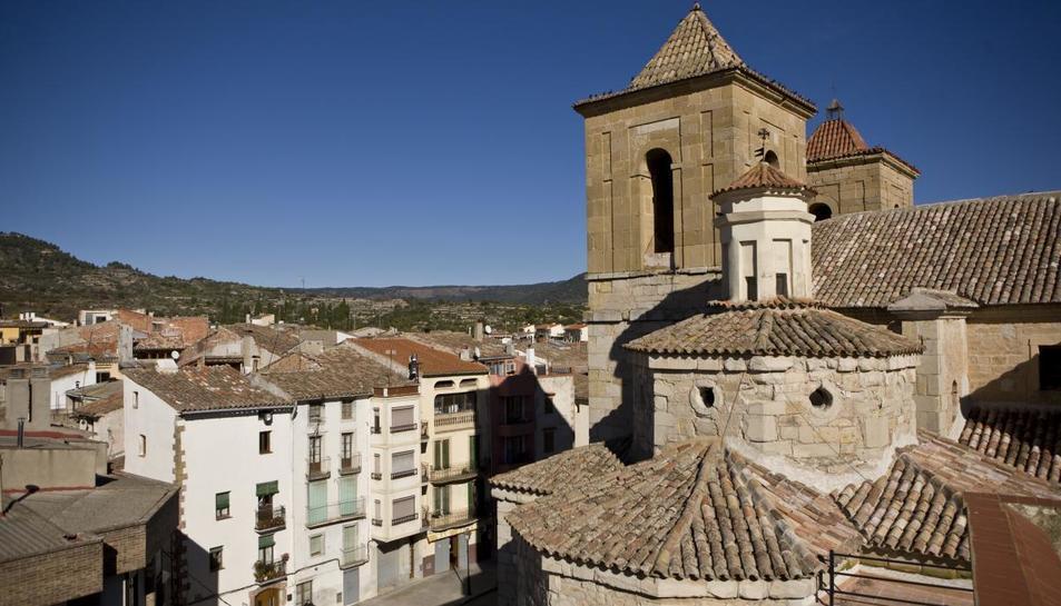 Imatge d'arxiu de Cornudella de Montsant.