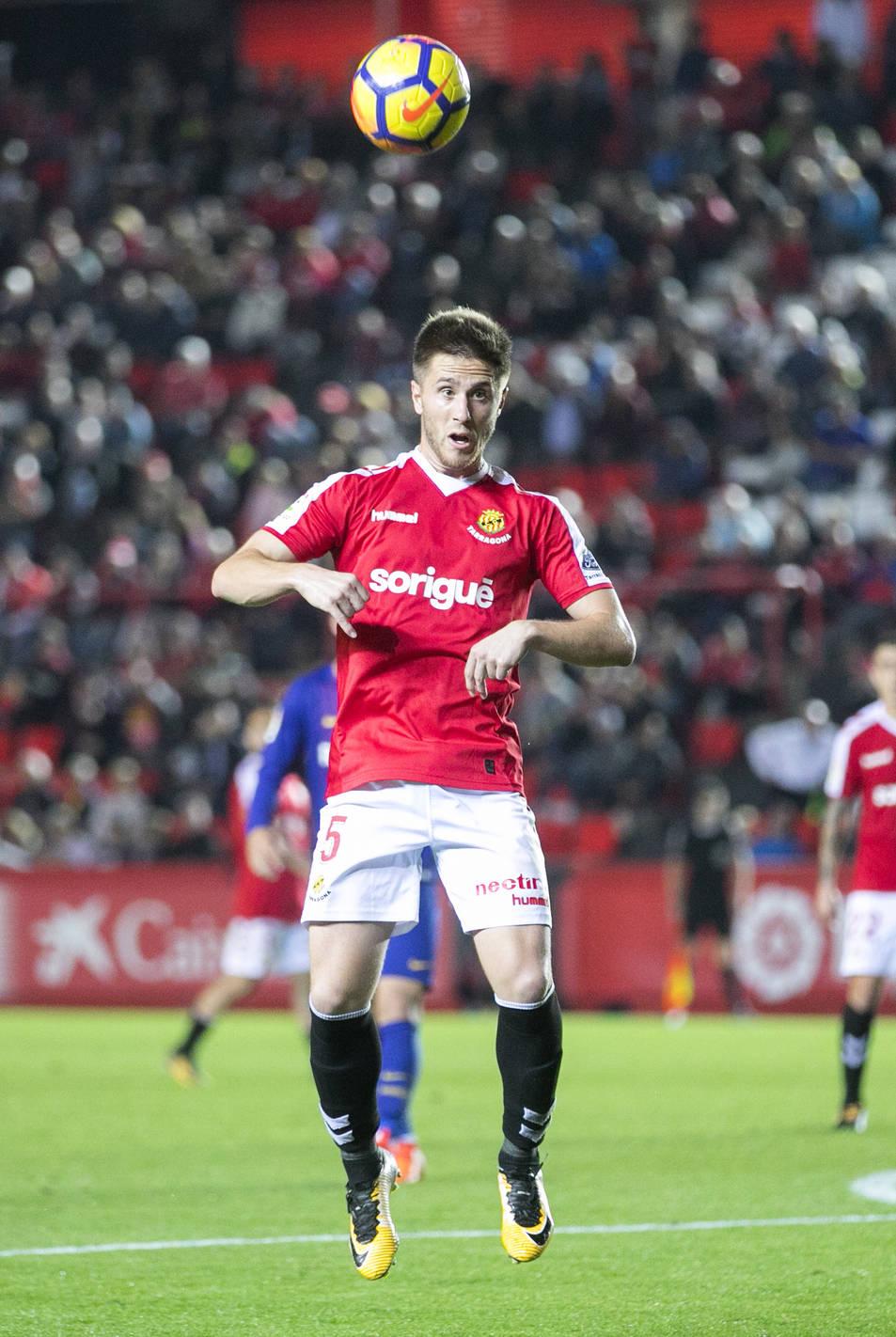 Jon Gaztañaga, durant el Nàstic-Barça B de l'1 de novembre.