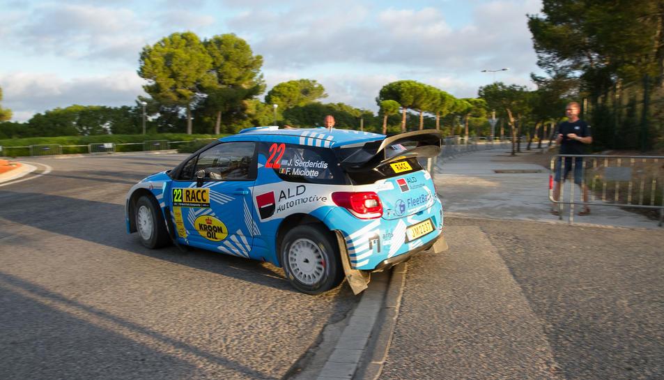 Un dels vehicles que van prendre part en la darrera edició del Ral·liRACC Catalunya-Costa Daurada.