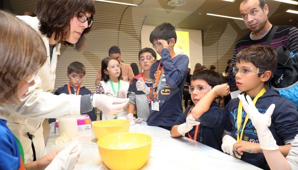Taller de química del ICIQ en Tarragona