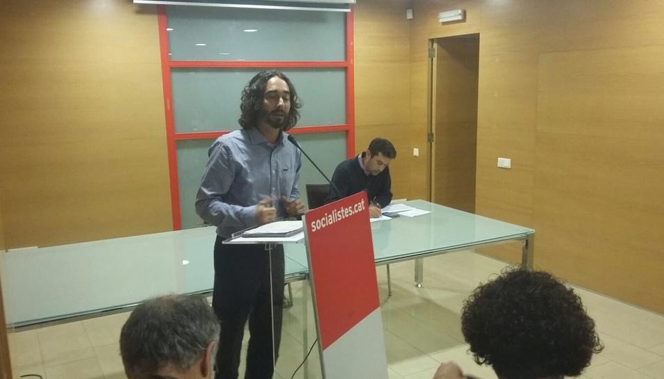 Carles Castillo serà el número 2 de la llista del PSC a Tarragona.