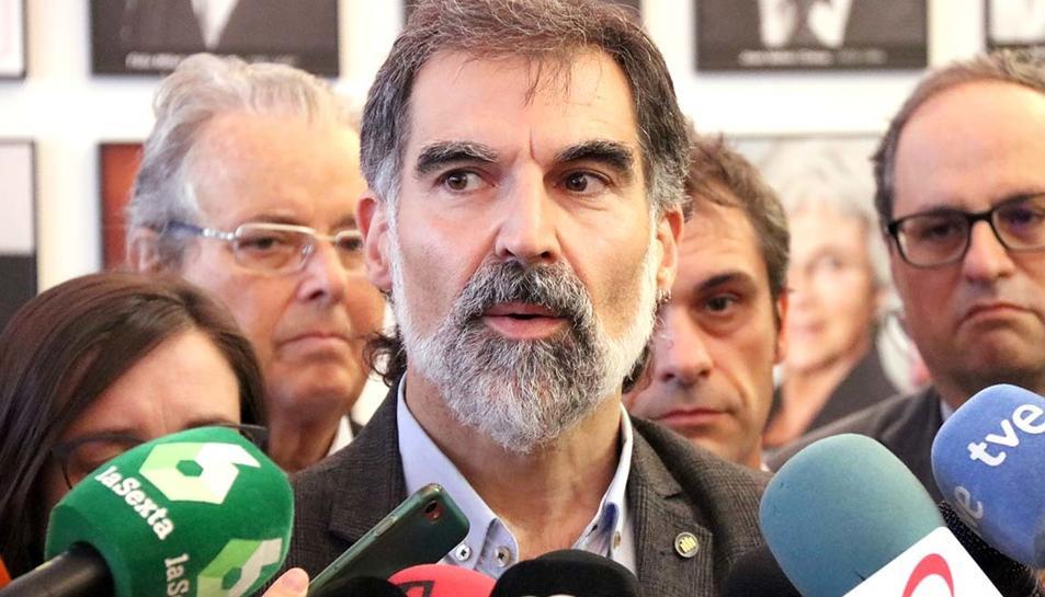 Imatge d'arxiu de Jordi Cuixart, president d'Òmnium Cultural.
