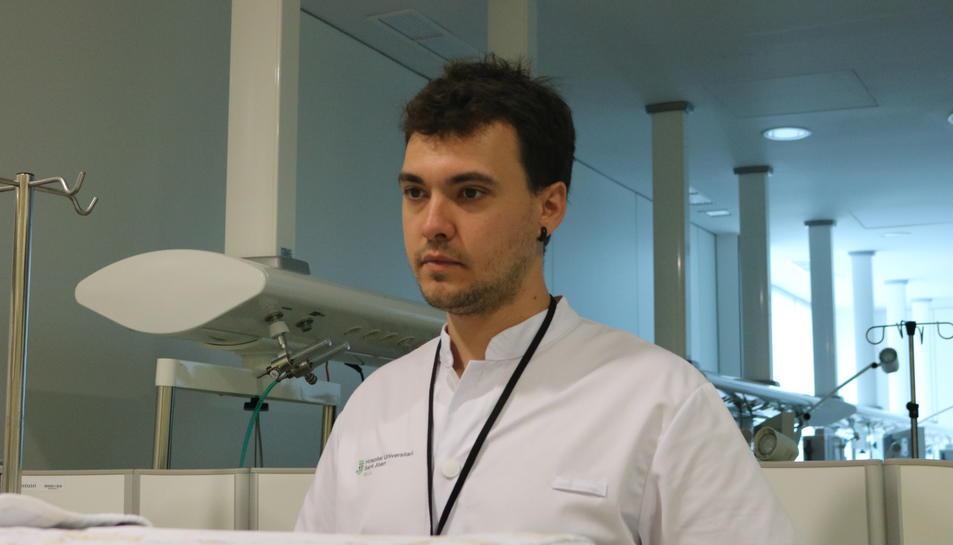 josep-Oriol Casanovas, infermer de Reus, és un dels 14 finalistes del certamen.
