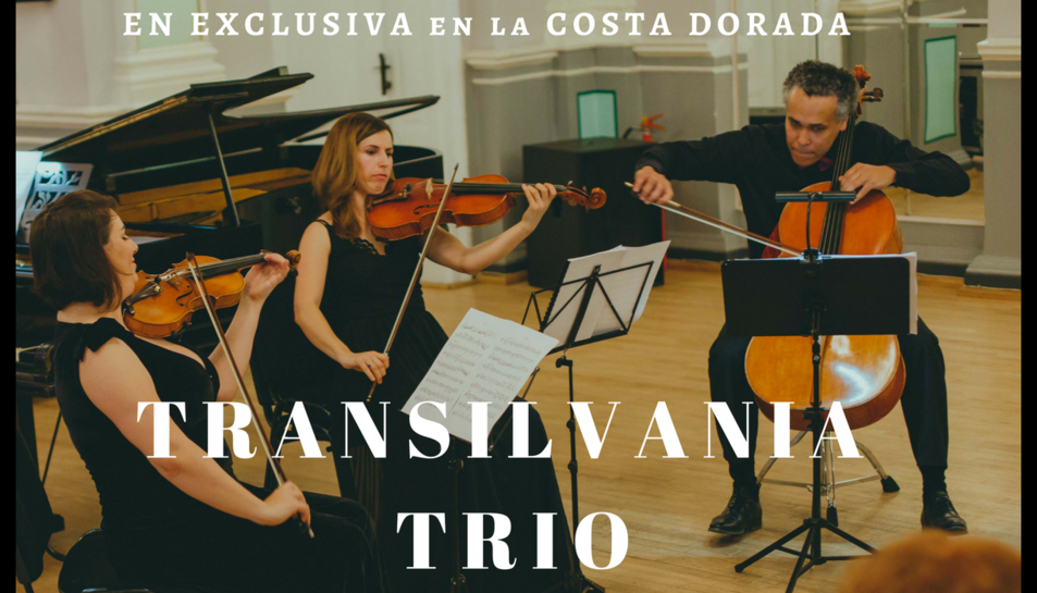 El trio Transilvania interpretarà obres per trio de cordes de Enescu, Bethoven i Strauss.