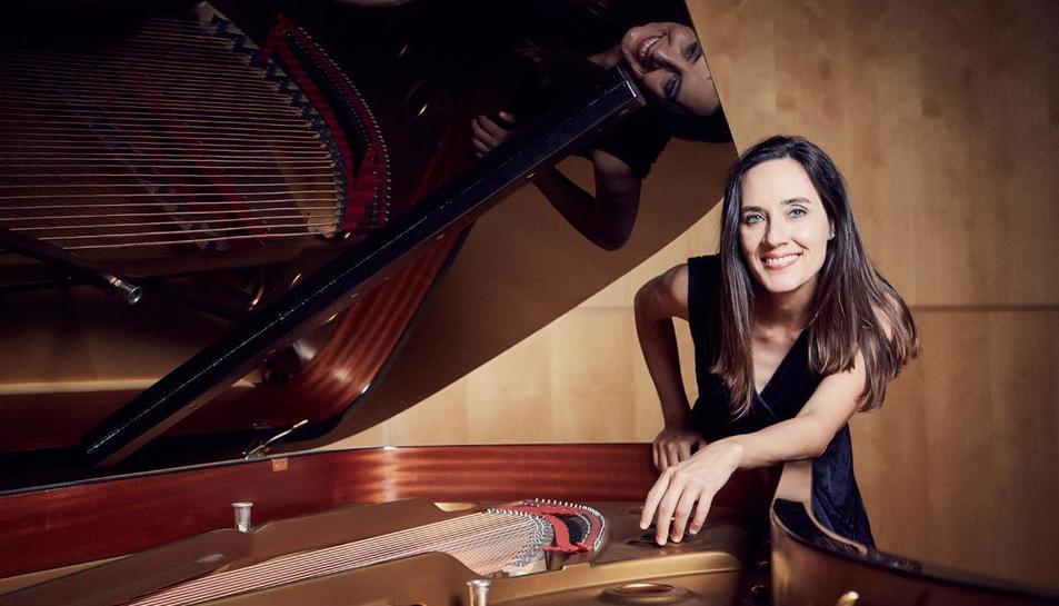 La pianista i directora artística del cicle 'Vermusic', Maria Parra.