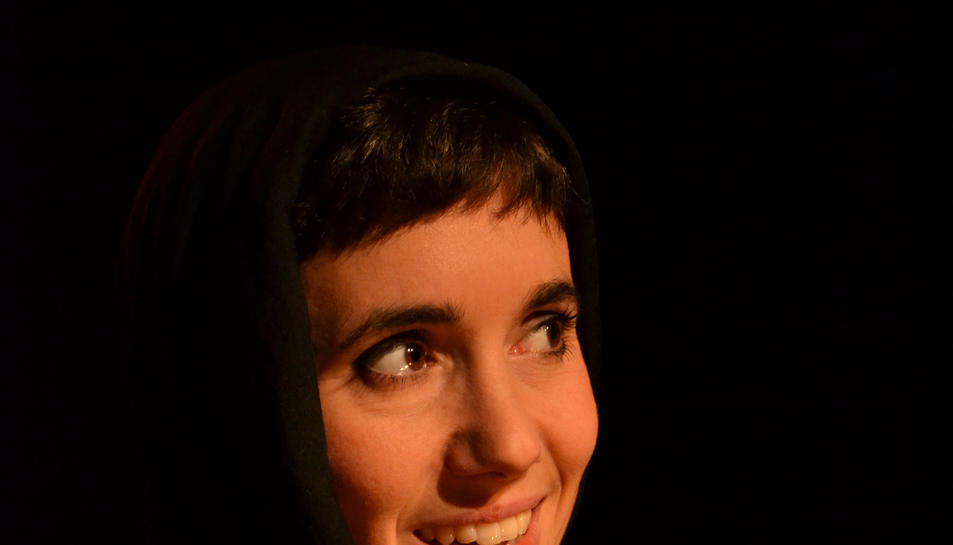 Imatge Mariona Castillo espectacle '9 Les dones de Guido Contini'.