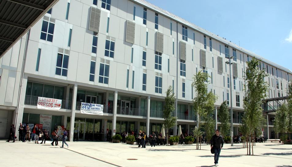 Imatge d'arxiu del Campus Catalunya de la URV a la ciutat de Tarragona.