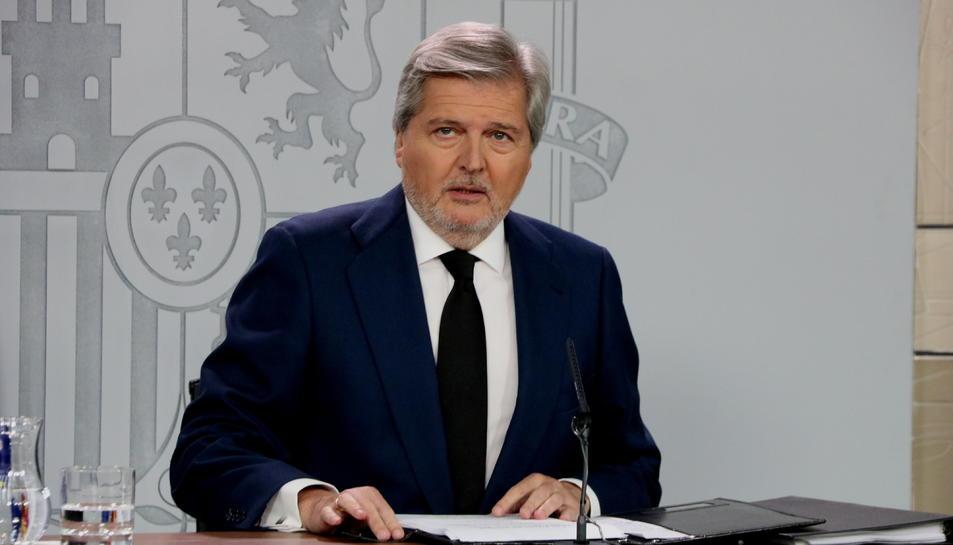 Imatge d'arxiu del portaveu del govern espanyol, Íñigo Méndez de Vigo.