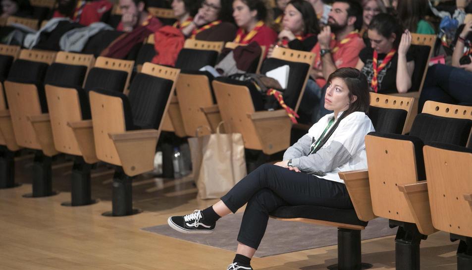 Minyons Escoltes i Guies al Palau de Congressos de Tarragona.