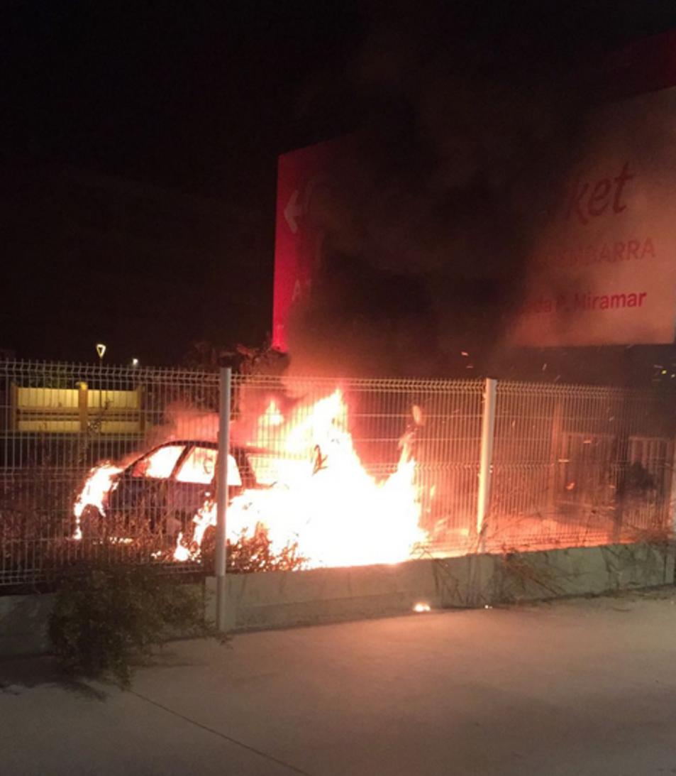 El foc impressionava.