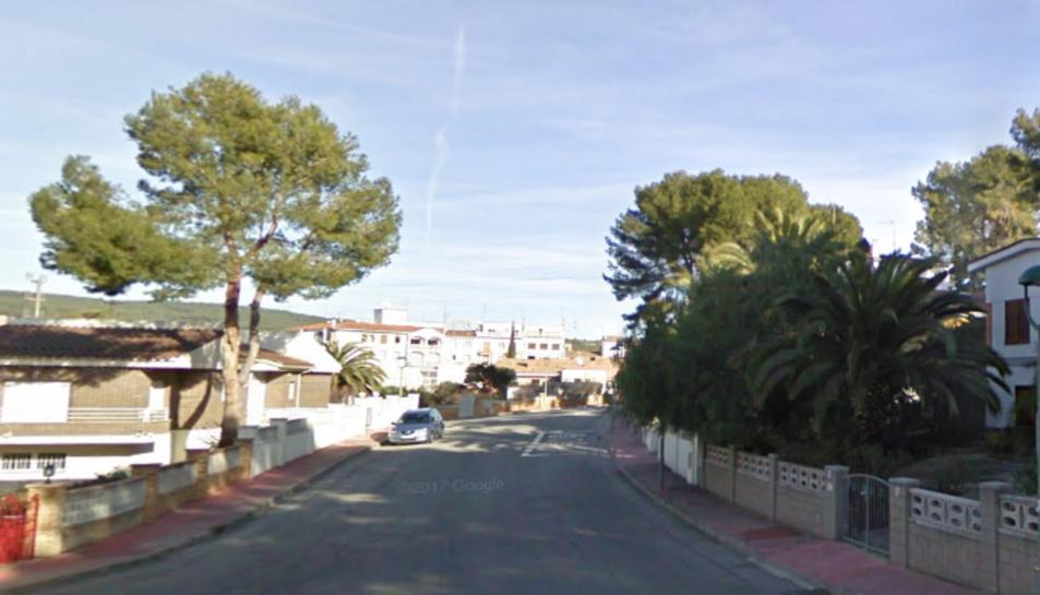 Imatge d'arxiu del carrer Cel de Monnars.