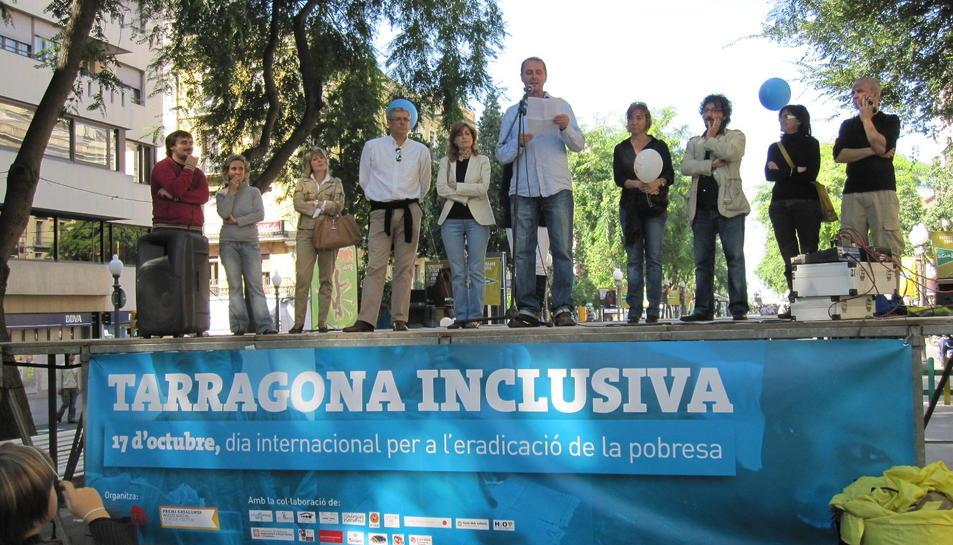 ECAS aplega diverses entitats que treballen en el camp de la inclusió social.