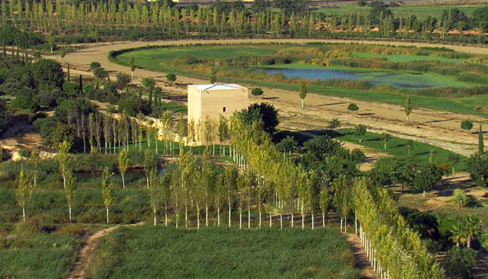 Les dues noves àrees de salut del parc de la Torre d'en Dolça estaran senyalades i se situaran al costat del Raval de la Mar i a la zona de la bassa.