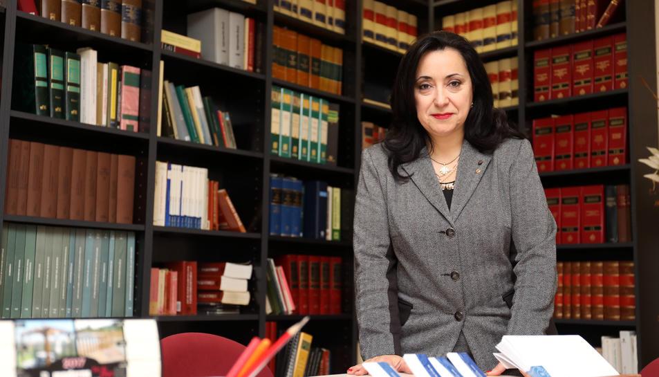 Maria Mercè Martorell va tenir un protagonisme molt especial en el procés de la declaració.