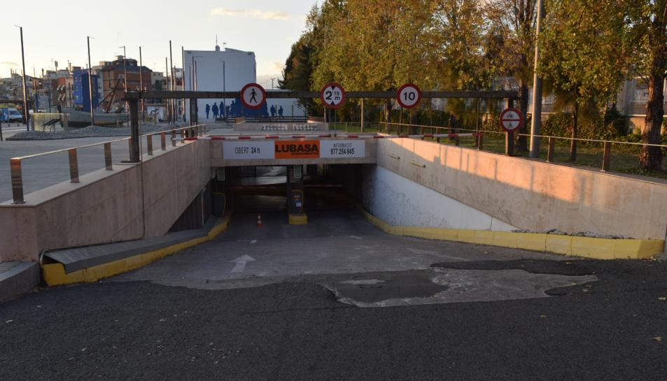 El pàrquing del Serrallo té capacitat per a 405 vehicles.