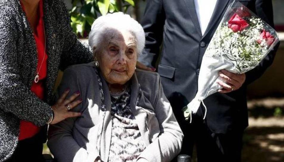 Ana Vela en una imatge d'arxiu.