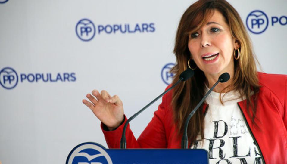 La presidenta del PPC, Alícia Sánchez-Camacho, en una imatge d'arxiu.