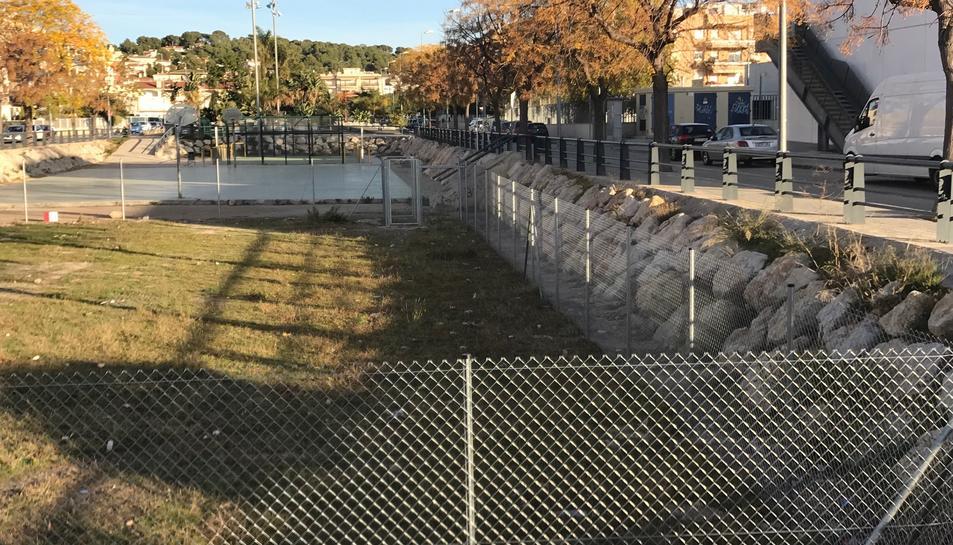 Imatge del primer dels espais 'correcan' situat a la Rambla del Prat de Cunit.