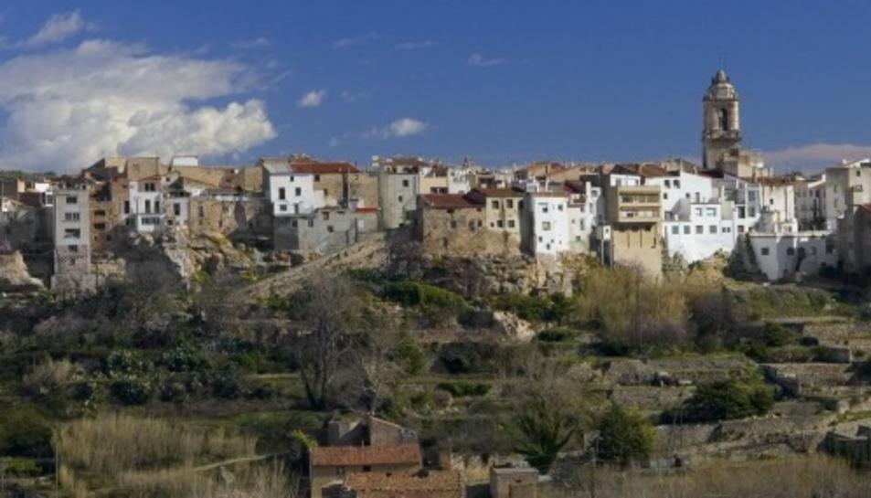 Imatge del municipi de la Sènia.