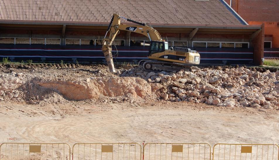 Empiezan las obras de la piscina de 50 metros de la anilla for Piscina 50 metros