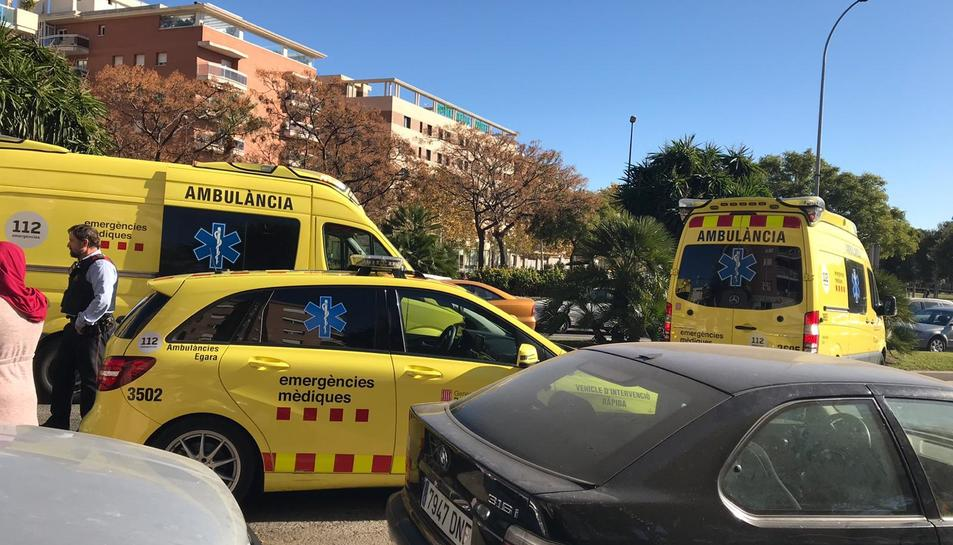 El nen ha estat atropellat quan creuava un pas de vianants a l'avinguda President Macià.