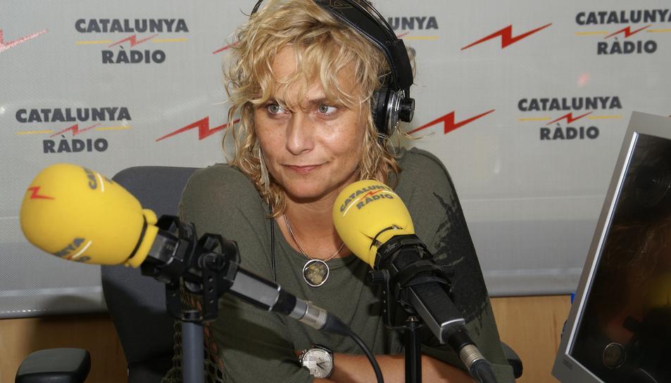 Mònica Terribas és la directora d''El Matí de Catalunya Ràdio'