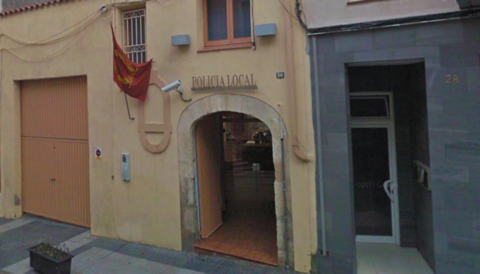 Imatge de la façana de la Policia local de Constantí.
