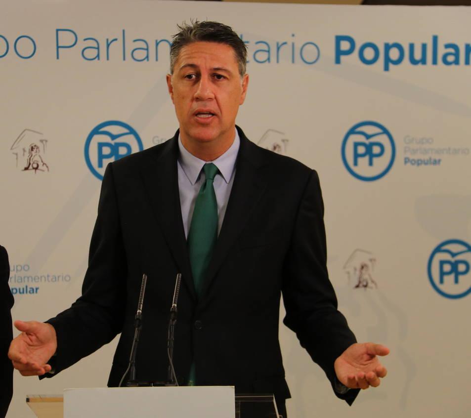 Imatge d'arxiu del candidat del PPC, Xavier Garcia Albiol.