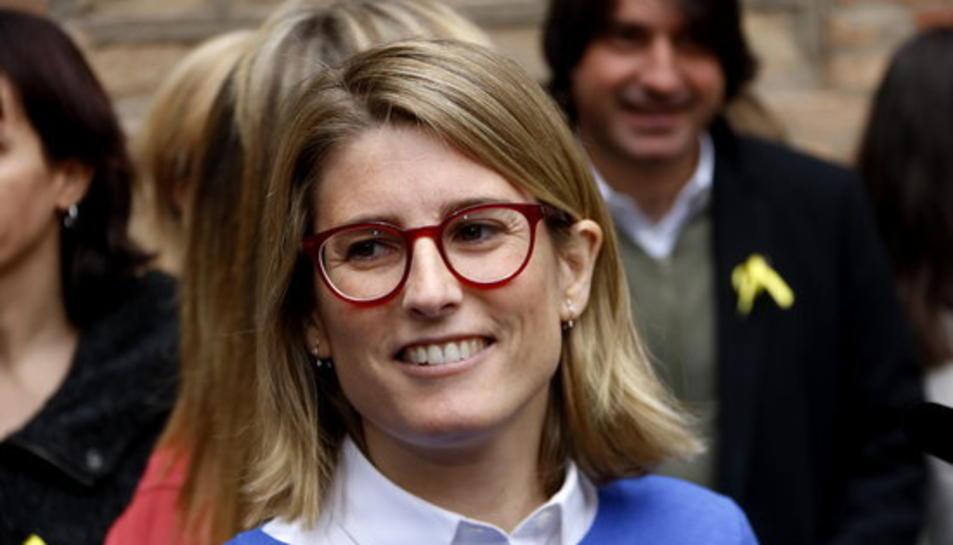 La cap de campanya de Junts per Catalunya, Elsa Artadi.