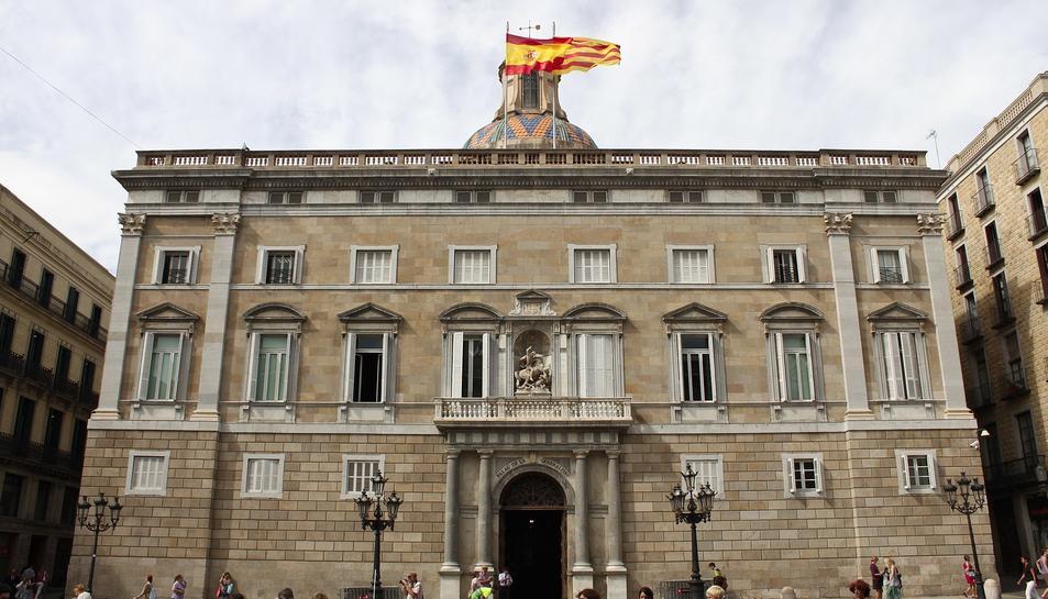 Imatge d'arxiu del Palau de la Generalitat.