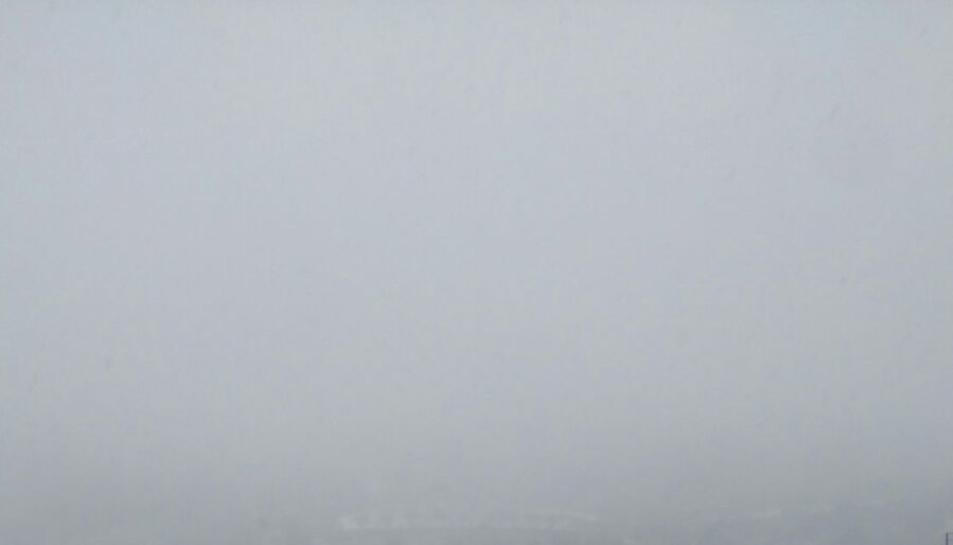 Imágenes de la nevada en Prades y Vilanova de Prades