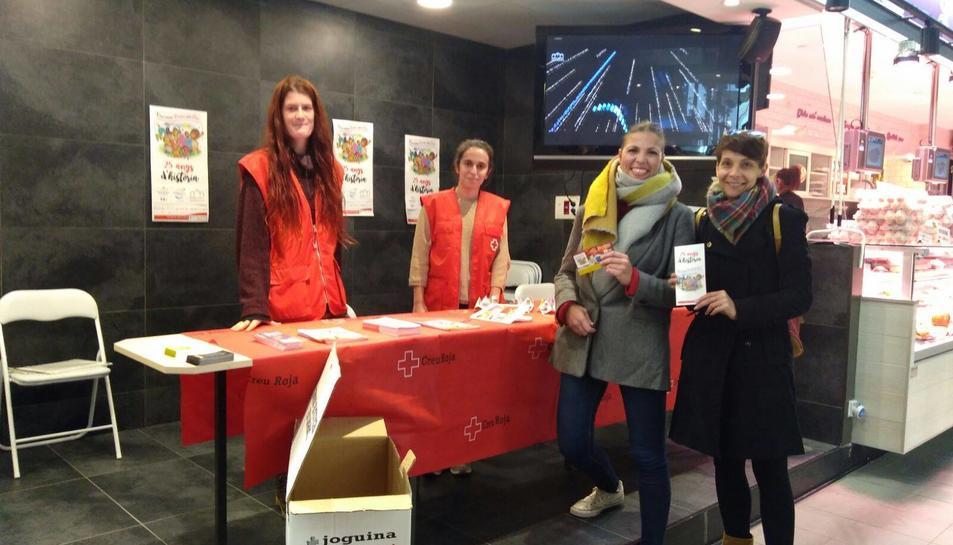 El Mercat Central de Tarragona ha cedit a l'entitat durant aquesta setmana per tal que pugui dur a terme la seva campanya de recollida de joguines.