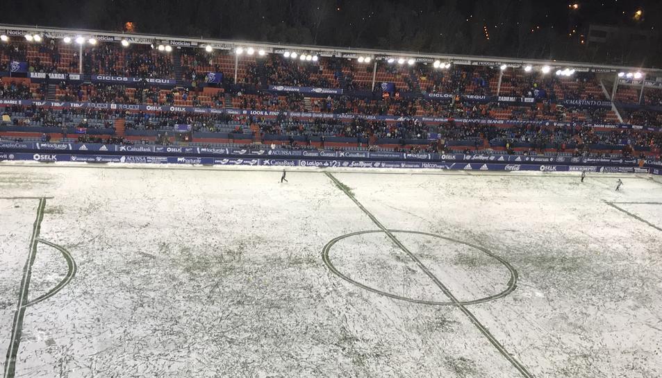 La nevada al Sadar.
