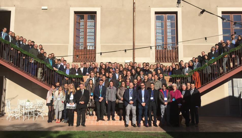 Imatge de la trobada de comissions de l'AEQT.