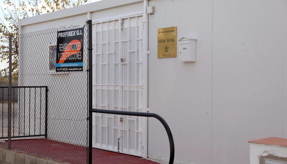 El nou local està ubicat en una finca de titularitat municipal del carrer Mas d'Aixemús.