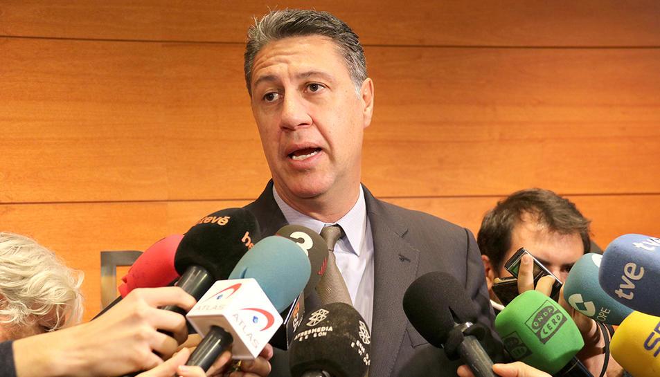 El candidat del PPC a la presidència de la Generalitat, Xavier Garcia Albiol