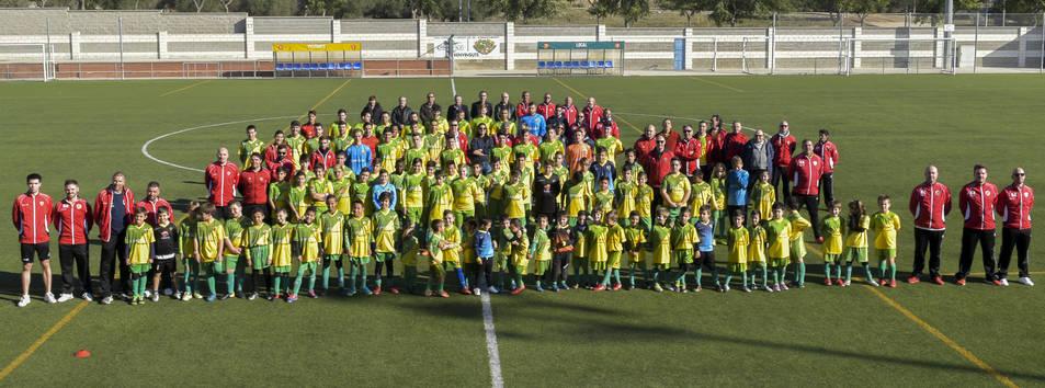 Imatge de la presentació dels equips del Centre d'Esports Constantí.