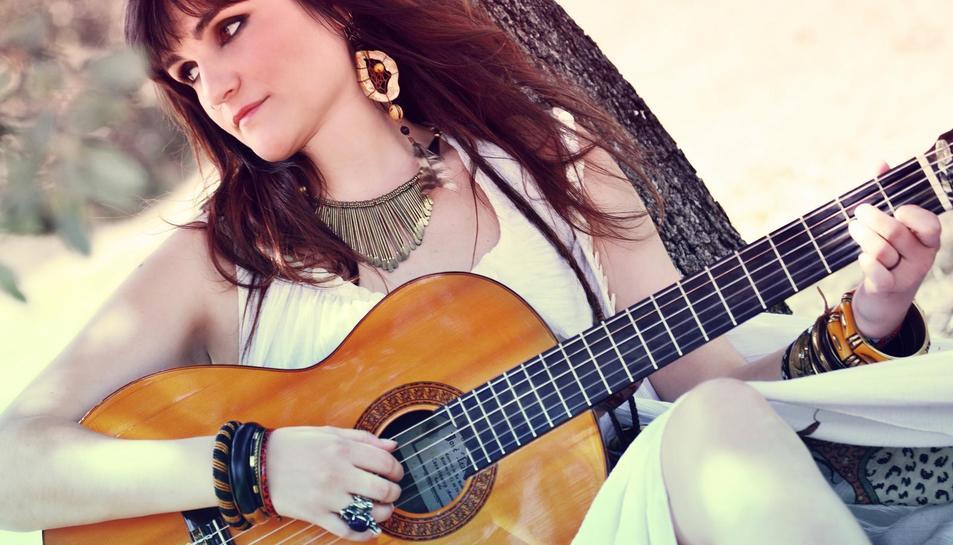La cantant Rozalén que el proper any donarà un concert a Tarragona.