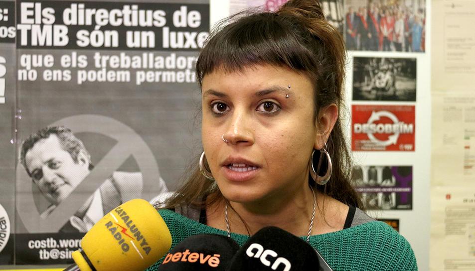 La regidora de la CUP a l'Ajuntament de Barcelona, Maria Rovira.