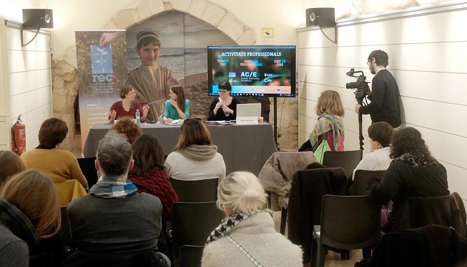 Les jornades s'han centrat també en la presència de la dona al sector audiovisual europeu.