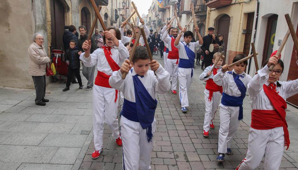 El Ball de Bastons va ser un dels participants de la commemoració del setge de 1640.