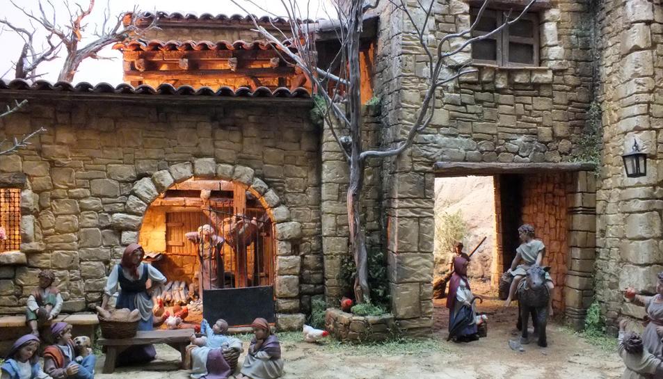 En aquest diorama que s'exposa s'aprecia al detall la qualitat del treball realitzat.