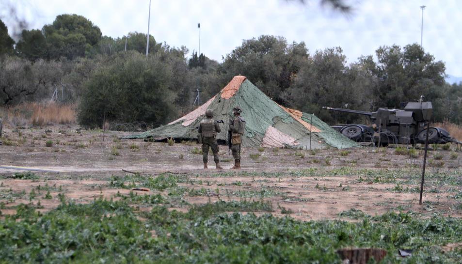 L'exèrcit s'instal·la a Reus