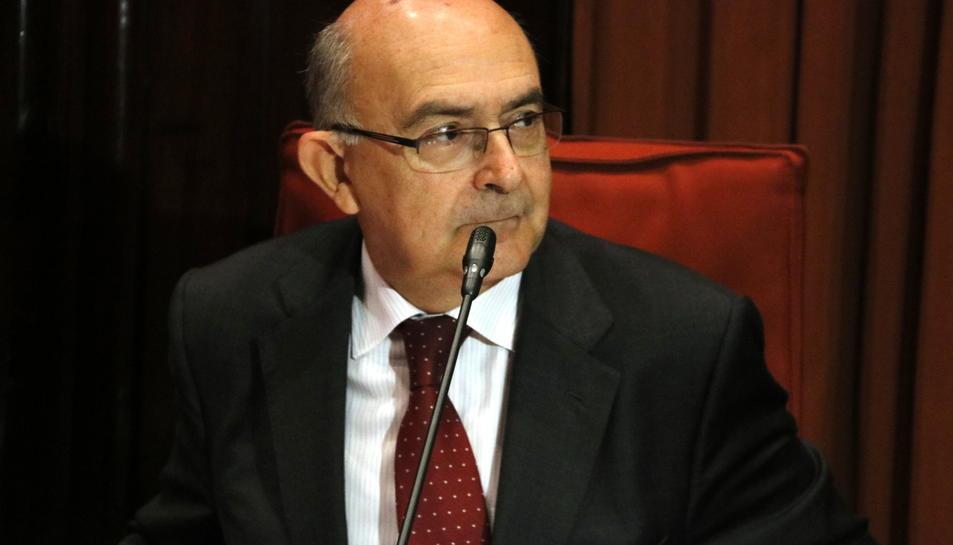 El director de l'Oficina Antifrau de Catalunya (OAC), Miguel Ángel Gimeno.